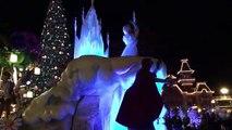 La Magie Disney - Parade de Noël de nuit new - Disneyland Paris France - Night Parade Christmas