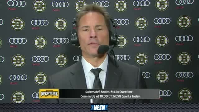 Bruins Overtime Live: Bruce Cassidy Breaks Down Bruins' OT Loss To Sabres