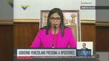 Gobierno venezolano amenaza con invalidar a gobernadores opositores