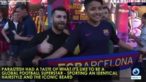 See how 'Iranian Messi' makes Barca fans' jaws drop!