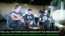 Total War: Warhammer II - New Battlefield Mechanics E3 Interview (FFA, Sieges, Modding, DLC)!