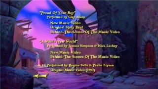 Aladdin 1992 2004 DvD Menu Walkthrough