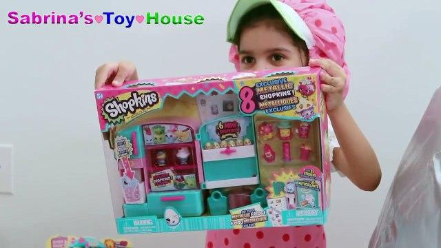 SHOPKINS Super Mega Surprise Egg 101+ Surprises GIANT SHOPKINS EGG Kids Playing Toys Fun Video