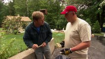 How to Cover a Concrete Wall with Stone Veneer - This Old House