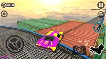 Impossible Stunt Car Tracks 3D #2 - Android Simulation Games Car | BamBi Tv - Android Gameplay FHD