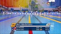 Most Phenomenal Michael Phelps Swim Ever!
