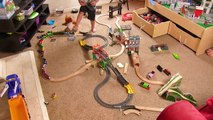 Thomas and Friends | Trackmaster Wooden Railway Combo Track! Fun Toy Trains for Kids