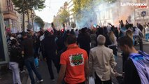 OM-PSG : avant le Clasico, les supporters olympiens ont embrasé Marseille