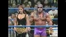 Jeff Jarrett vs Scott Steiner (WCW Nitro 1-08-01)