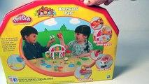 PLAY-DOH AMIGUITOS DE LA GRANJA|Play-Doh Farm Barnyard Pals Animal Activities Mundo de Jugutes