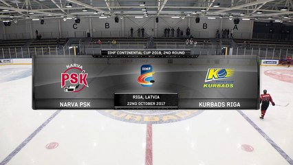 IIHF CONTINENTAL CUP 2018, 2nd round matches in Riga (3)