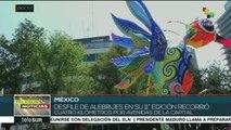 La Ciudad de México celebra el 11º Desfile de Alebrijes Monumentales