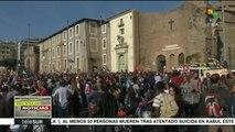 Roma: miles marchan contra políticas racistas de la UE