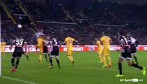 Udinese - Juventus Samir goal (Contre son camps)