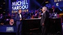 Michel Sardou dernier show : le chanteur rend hommage à Mireille Darc
