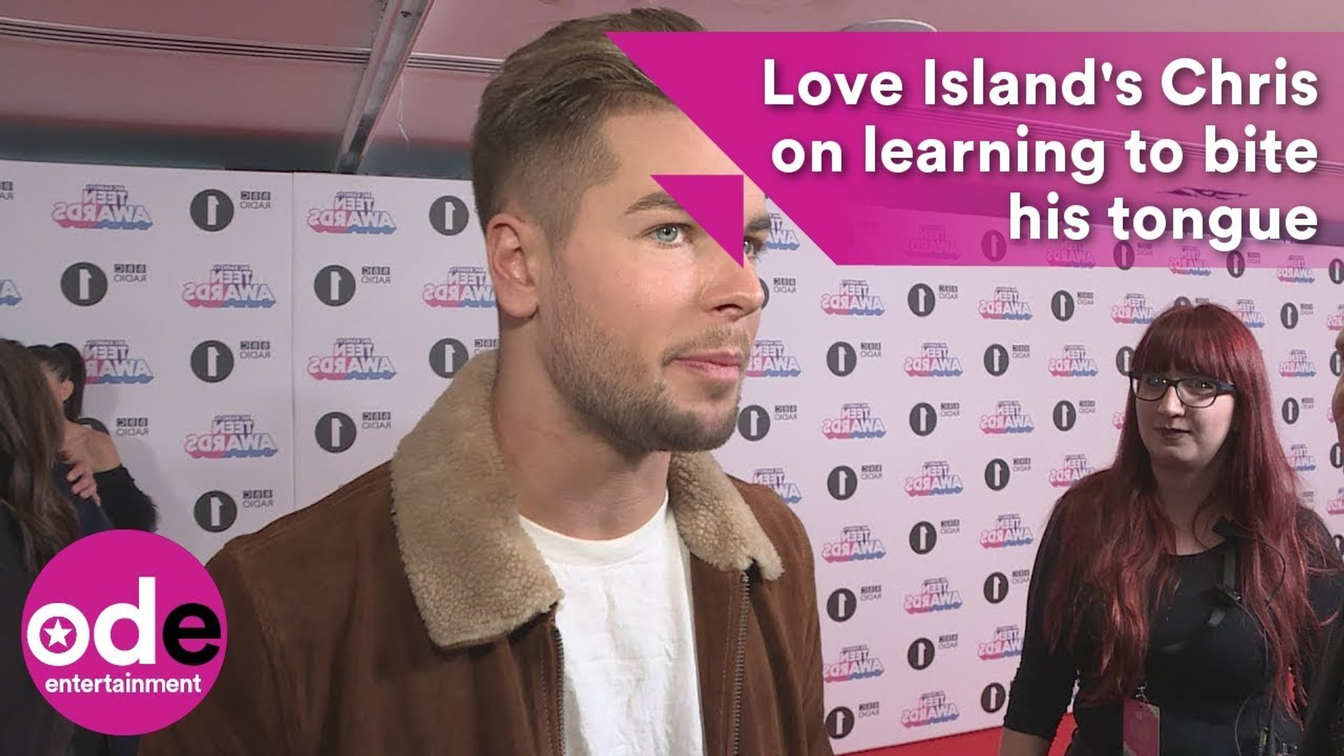 Love Island's Chris says he is learning to bite his tongue