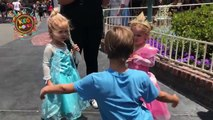 Funny video Mila and Emma Holidays with family visited in Disneyland