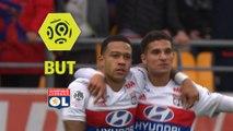 But Memphis DEPAY (48ème) / ESTAC Troyes - Olympique Lyonnais - (0-5) - (ESTAC-OL) / 2017-18