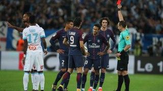 Neymar Jr Red Card vs Marseille   Marseille vs PSG 2-1   22.10.2017 HD