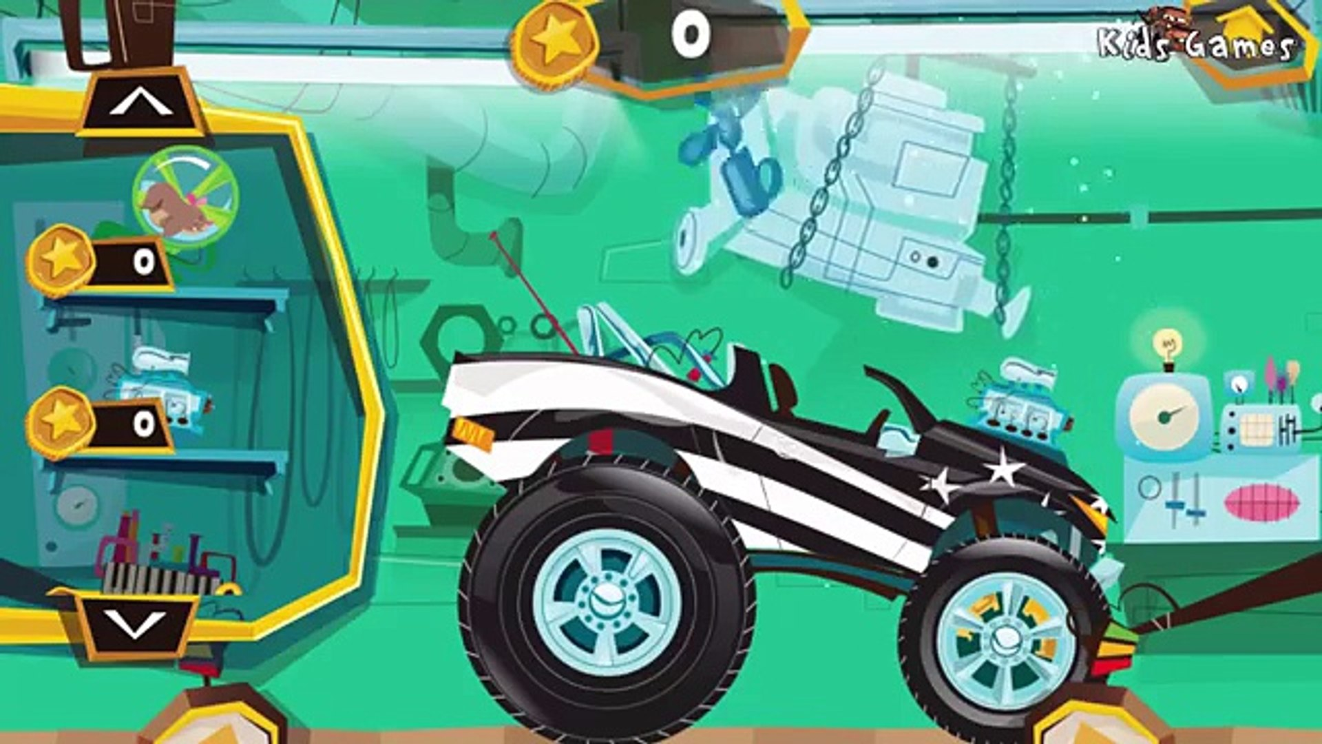 Build A Truck for Children | Car Service - Dream Cars Fory Trucks & Monster Truck for Kids