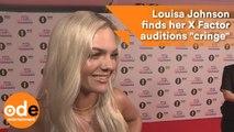 """Louisa Johnson's X Factor auditions make her """"cringe"""""""