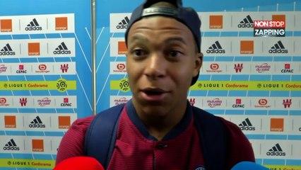 OM-PSG : Kylian Mbappé dézingue l'arbitre (Vidéo)