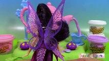 Pâte à modeler Magic Fun Dough Fairy Tea Party Fairies ♥ Service à thé des Fées
