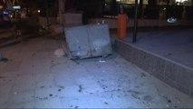 Bağdat Caddesi'nde Araç Kaldırıma Çıktı: 4 Yaralı