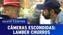 Câmeras Escondidas: Lamber Churros