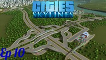 Jeux vidéos Clermont-Ferrand cities skylines - justine sa ville partie 01 ( épisode 10 )