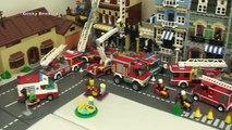 Geeky Bricks Lego City - Number 2 - progress thanks to Ethan :)