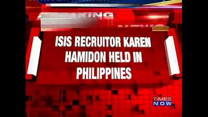 ISIS Suspect, Karen Aizha Hamidon, Wanted By India Arrested In Philippines