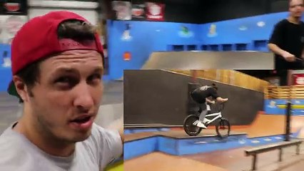 2 vs 2 Game of BIKE (CHAD GETS WRECKED)