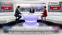 Florian Philippot critique la prestation de Marine Le Pen dans «L'Émission politique»