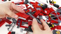 Fire Rescue Analog LEGO City Fire Truck Toys Review + Train LEGO 60051