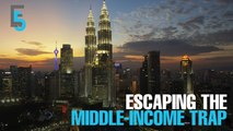 EVENING 5: Escaping middle-income trap still challenging