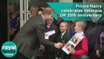 Prince Harry listens in on Veterans UK helpline call