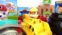 Nickelodeon PAW PATROL Patroller Truck, IONIX JR. Building Set, Chase Marshall Rubble Toy IRL / TUYC