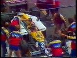 Gran Premio di Francia 1987: Secondo pit stop di N. Piquet, ritiro di Alboreto e sorpasso di N. Piquet a Prost