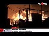 Kebakaran Besar Hanguskan 50 Rumah Kontrakan dan 9 Kendaraan