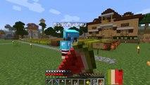 ROLEPLAY Minecraft Survival Adventure - New Neighbor in Town - RadioJh Audrey & SallyGreen