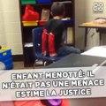 Écolier menotté: La justice américaine estime qu'il n'était pas une menace