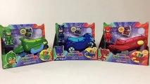 PJ Masks Vehicles Catboys Cat Car Gekkos Gekko Mobile Owlettes Owl Glider || Keiths Toy Box