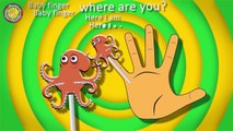 Finding Dory Lollipop Finger Family Song & More Nursery Rhymes Whith Lirycs