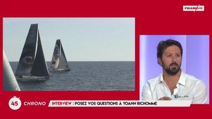 Yoann Richomme : «Difficile de s'améliorer et de chercher de l'argent en même temps»