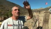 Incendie en Corse : une famille échappe aux flammes