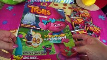 TROLLS Trading Card Starter Pack & 5 Pack Opening Trolls Trading Cards! Official Trolls Movie