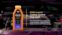 How to Fix a Cooling System Leak with K&W® Instant Cooling System Stop Leak
