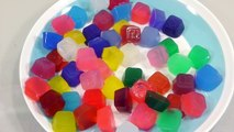 DIY How to Make Colors Alphabet Pudding Jelly Learn Alphabet Colors Ice Cream Slime ABC Bus Toys
