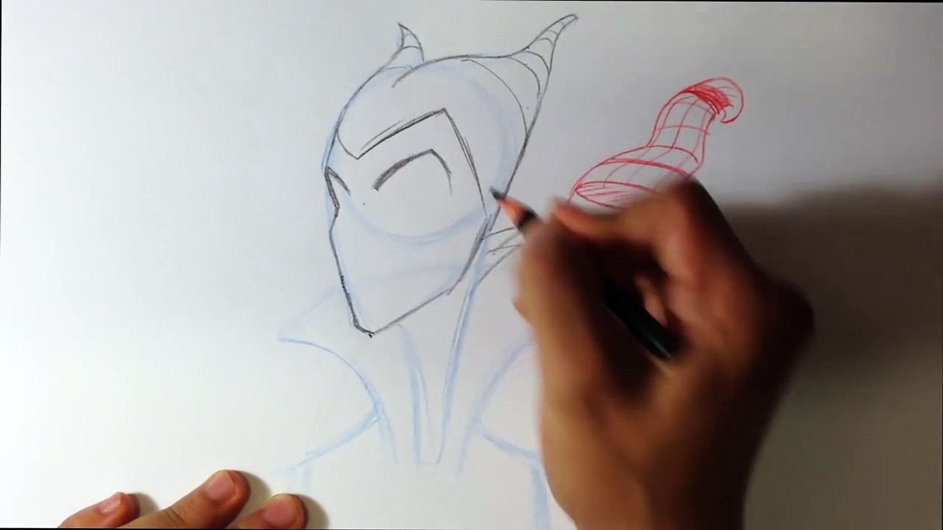 How to Draw Maleficent - Easy Things To Draw